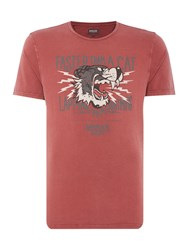 Barbour Triumph Lapping Dog Crew Red