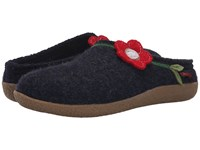 Giesswein Stams Ocean Women's Slippers Blue