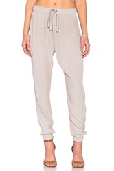 Enza Costa Lounge Pant Gray