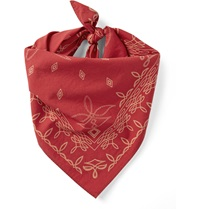 Rrl Printed Cotton Bandana Red