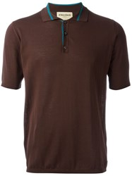 Al Duca D'aosta 1902 Knit Polo Shirt Brown