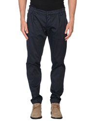 Entre Amis Men Casual Pants Dark Blue