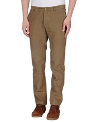 M.Grifoni Denim Casual Pants Khaki