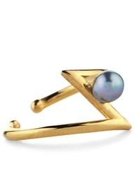 Leivankash Yellow Gold Occhiu Ring