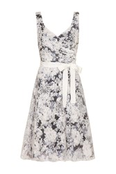 Almost Famous Floral Occasion Dress Black