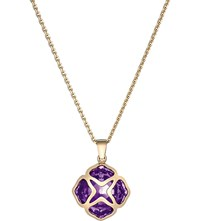Chopard Imperiale Rose Gold And Amethyst Pendant Necklace