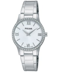 Pulsar Women's Dress Sport Stainless Steel Bracelet Watch 28Mm Pm2171 No Color