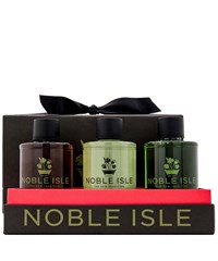 Noble Isle Bath And Shower Trio Gift Set 3 X 75Ml