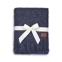 Ugg Luxe Mohair Throw Blue Jay