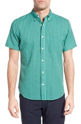 Men's Relwen Classic Fit Check Short Sleeve Sport Shirt