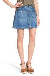 Women's Hinge A Line Denim Skirt