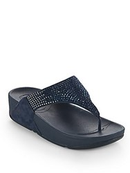Fitflop Flare Thong Sandals Navy