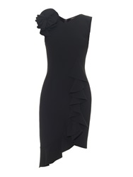 Sophie Theallet Ruffle Crepe Dress