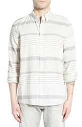 Men's Threads For Thought 'The Hampton' Trim Fit Organic Cotton Woven Shirt