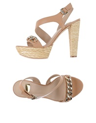 Guess By Marciano Sandals Light Brown