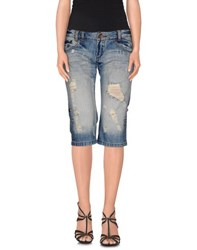 Tirdy Denim Denim Capris Women