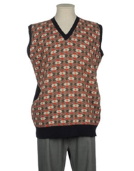 Laurence Smith Sweater Vests Military Green