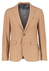 Burton Menswear London Suit Jacket Camel
