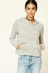 Forever 21 Brushed Marled Knit Sweater