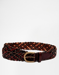 Scotch And Soda Leather Belt Brown