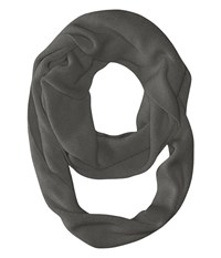 The Julietta Eternity Scarf Charcoal Scarves Gray
