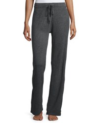 Neiman Marcus Drawstring Lounge Pants Dark Grey