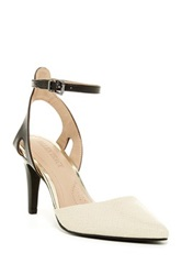 Ellen Tracy Perla Ankle Strap Pump Black