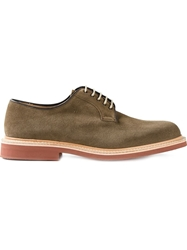 Church's Contrasting Sole Derby Shoes