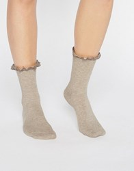 Jonathan Aston Hush Sock Oatmeal Cream