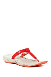 Columbia Sunlight Vent Sandal Red