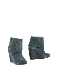 Tila March Ankle Boots Slate Blue