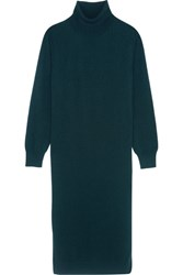 Christophe Lemaire Cashmere Midi Dress Petrol