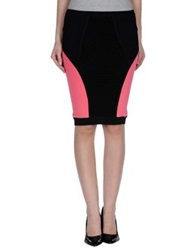 Guess By Marciano Marciano Knee Length Skirts Black