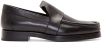 Pierre Hardy Black Leather Hardy Loafers