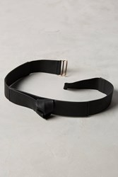 Anthropologie Liya Knotted Belt Black