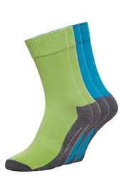 Camano 4 Pack Socks Lime Turquoise Light Green