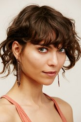 Free People Night Moves Feather Earrings