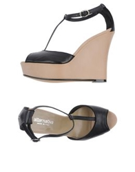 Alternativa Wedges Black