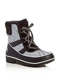 Sorel Tivoli Ii Lace Up Booties Black
