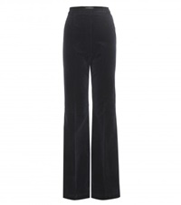 Alexa Chung For Ag Laura Corduroy Trousers Blue