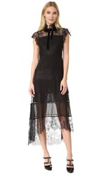 Philosophy Di Lorenzo Serafini Lace Dress Black