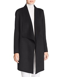 Elie Tahari Christina Shawl Collar Coat Black