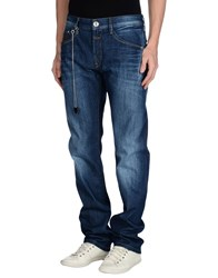 Marithe' F. Girbaud Le Jean De Marithe Francois Girbaud Denim Denim Trousers Men Blue
