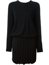 Jay Ahr Origami Jumper Dress Black