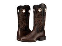 Ariat Sport Rider Wide Square Toe Chocolate Black Cowboy Boots Brown
