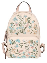 Red Valentino Flower Embellished Nylon Backpack