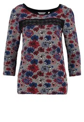 Naf Naf Oreka Long Sleeved Top Imprime Multicoloured