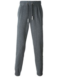Philipp Plein Side Stripe Track Pants Grey