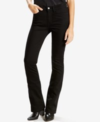 Levi's 315 Shaping Bootcut Jeans Black