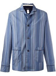 Paul Smith Striped Pyjamas Blue